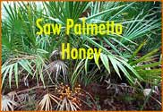 8 oz. Saw Palmetto Honey