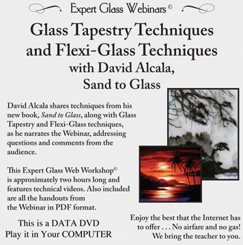 Webinar DVD/ David Alcala Sand to Glass